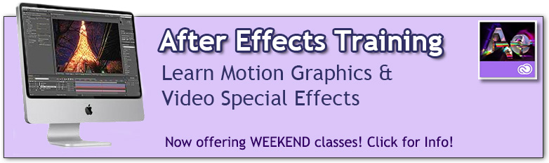 After Effects Training Classes in Los Angeles or Live Online | Learn Visual Effects and Motion Graphics with Adobe After Effects