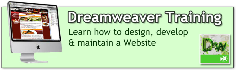 Dreamweaver Training in Los Angeles or Live Online from your home or office! Learn Web Design and Development. Create, Design, Develop and Maintain a Website