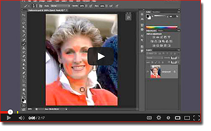 Photoshop Training in Los Angeles - Removing Wrinkles